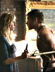 Caroline and Klaus - The Vampire Diaries Season 4 Episode 8