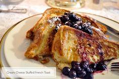 Breakfast Drool: Cream Cheese Stuffed French Toast | Making Macy