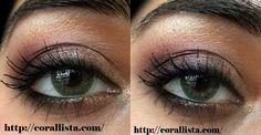 Purple-Gold eye makeup Tutorial