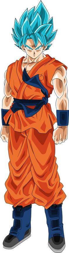 SSGSS Goku (Dragonball Heroes) Alt Palette by RayzorBlade189: