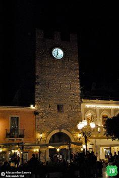 Torre dell'orologio #Taormina #Messina #Sicilia #Sicily #Italia #Italy #Viaggiare #Viaggio #Travel #AlwaysOnTheRoad