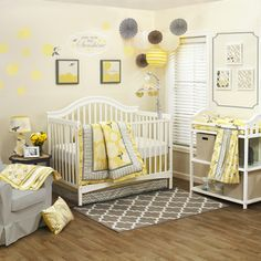Shop for The Peanut Shell Girls' 'Stella' 4-piece Crib Bedding Set. Get free delivery at Overstock.com - Your Online Baby Bedding Shop!…