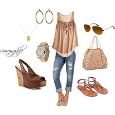 Summery and Casual, created by sammyzstyle on Polyvore