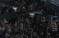 Nokia 3D map allows you to explore 'The Dark Knight Rises' Gotham City