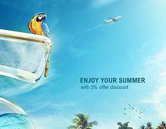 "Check out new work on my @Behance portfolio: ""Jazeera Air ways,Enjoy Your Summer"" http://be.net/gallery/57229873/Jazeera-Air-waysEnjoy-Your-Summer"