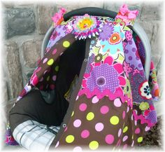 Carseat Canopy / Carseat Cover / Carseat Tent by fashionfairytales, $36.99
