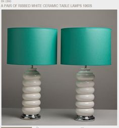 1950's Mid Century Modern lamps from Talisman Design in London England the best store I have ever been in for Mid Century