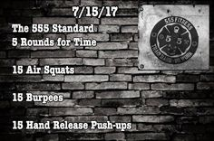 The 555 Standard  Measure your progress by tracking your times on the standard            Want to be featured? Show us how you train hard and do work   Use #555fitness in your post. You can learn more about us and our charity by visiting WWW.555FITNESS.ORG  #fire #fitness #firefighter #firefighterfitness #firehouse #buildingastrongerbrotherhood #workout #ems #engine #truckie #firetruck #pastparallel #damstrong #charity #nonprofit #fullyinvolved #firefit #fitfirefighter #cheifmiller…
