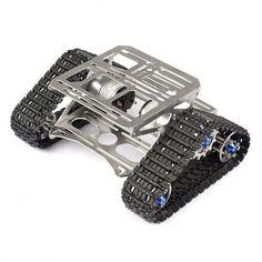 All Metal Robot Car Chasis