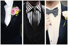 Mariage bicolore noir-blanc