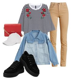 """""""Outfit #95"""" by tatyanaizvestnaya on Polyvore featuring мода, Barbour, MICHAEL Michael Kors и Le Amonie"""