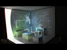 mapping room Huawei smart house made by Magic-innovations mapping studio More informations for Freshmarketing Map Design, Booth Design, Media Design, Design Ideas, 3d Projection Mapping, Interactive Exhibition, 3d Printer Projects, Light Architecture, Digital Wall