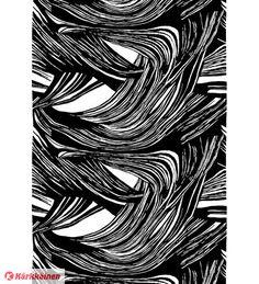 22,90 EUR | Vallilan Kaisla on rakastetun suomalaisen tekstiilitaiteilija Marjatta Metsovaaran (1927-2014) uudelleentuotantoon tuotu yksinkertaisuudessaan dynaaminen ja vaikuttava sisustuskuosi.<BR><BR>• Materiaali: 83 % puuvilla, 17 % polyesteri<BR>• Pesuohje: 30° C hienopesu väljässä vedessä. Ei linkousta, ei rumpukuivausta, kemiallinen pesu P. Silitys: 1. Suositellaan pestäväksi yksi kerrallaan nestemäisellä pyykinpesuaineella.