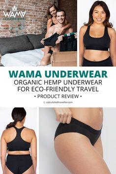 In this product review article, we look at organic underwear, or more specifically, hemp underwear. Will WAMA Underwear go the distance and pass our tests for eco-friendly travel? Read on as we dive deep into organic hemp underwear and see if it makes it onto our packing list and into our suitcase for our next trip. Travel Items, Travel Gadgets, Travel Products, Packing List For Travel, Packing Lists, Travel Advice, Travel Goals, Travel Style, Travel Fashion