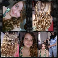 Transformação Juliana #shinemol #cachos #cristallohair visite www.facebook.com/cristallohair