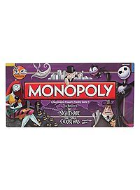 HOTTOPIC.COM - The Nightmare Before Christmas Monopoly Board Game