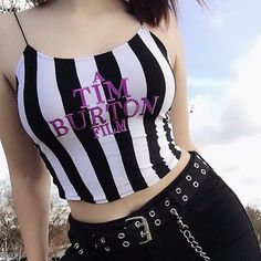 Alternative Upgrade sur Instagram: Yes/No? 👻 Do you like Tim Burton's films? 🎃 🖤 Tap the pic to get the gudz 💗 www.altupgrade.com 🖤 Follow @altupgrade . . . . . By… Pastel Goth Outfits, Edgy Outfits, Summer Outfits, Girl Outfits, Cute Outfits, Fashion Outfits, Tim Burton Style, Tim Burton Films, Girl Clothing