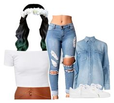 """""""11017"""" by princess-sinia ❤ liked on Polyvore featuring Yves Saint Laurent and Puma"""