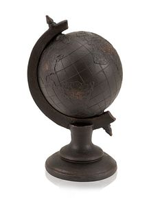 Industrial Chic Standing Globe at MYHABIT   $19