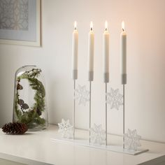 55 best Kerst inspiratie images on Pinterest | Ikea candles, Candle ...