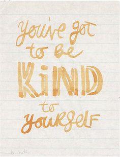 be kind. yes we should @Angela Lambert :)