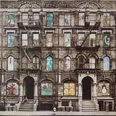 Lot 342 - Vintage LED ZEPPELIN Physical Graffiti - 2 x vinyl LPs - fab sliding window cover - Atlantic records 1975 Famous Album Covers, Greatest Album Covers, Classic Album Covers, Led Zeppelin Albums, Led Zeppelin Iii, Led Zeppelin Album Covers, Hard Rock, Peugeot, Rockabilly