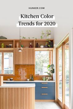 "While we're not advocates of continually changing up your kitchen, it doesn't hurt to know what's hot in case you get the urge to do a small refresh. These are the kitchen color trends for 2020 that will surely bring the ""wow-factor"" for years to come. #hunkerhome #kitchencolor #kitchen #kitchentrends #trend"