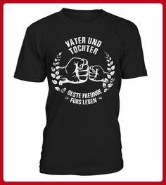Vater und Tochter beste Freunde frs Leben  - Shirts für vater (*Partner-Link)