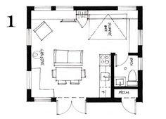 Pleasant Tiny House Designs 16 X 16 Modules Petite Plans Pinterest Largest Home Design Picture Inspirations Pitcheantrous