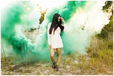 Smoke Bomb Photography by Mai Fotography http://www.maifotography.com