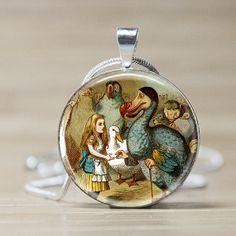 Alice in Wonderland Jewelry Alice In Wonderland by pendantmadness, $12.95