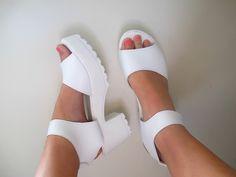 platform sandals tumblr - Google Search