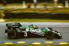 Michele Alboreto - Tyrrell 012 Boomerang Cosworth DFY V8 3.0 1983 Austrian Grand Prix, Österreichring