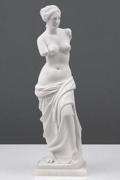 Venus de Milo Statue Replica Marble Sculpture Antique Goddess Aphordite - 26 cm / 10.2