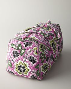 241a534f2bb7 Apparel Vera Bradley Large Duffel (Priscilla Pink) description The most  popular Vera Bradley bag is hands down the Signature Duffle bag!