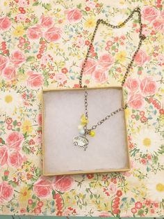 Vintage camper charm necklace  by reclaimjane on Etsy