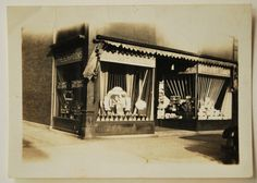 The Drug Store, Storefront, Early 1900's  Vintage Photo,Snapshot Photo, Photography, Original Photo, Collectible