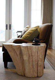 eiche massiv möbel beistelltisch ideen sofa