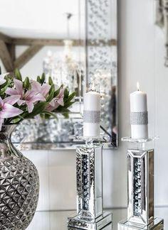 En unik og trendy nettbutikk som setter pris på vakre og unike ting Candle Holders, Vase, Candles, Chic, Home Decor, Shabby Chic, Elegant, Classy, Candy