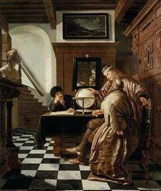 Vermeer Paintings, Baroque Art, Johannes Vermeer, Dutch Golden Age, Picasso Art, Royal Academy Of Arts, Great Paintings, Art For Art Sake, Painting Edges