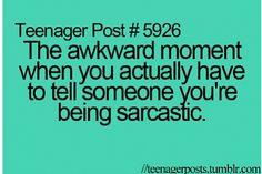 Sooo true. Especially with guys