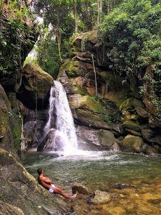 Cachoeira das Andorinhas, Aldeia Velha - RJ
