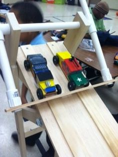 Home of Brian D. Williams | Pinewood Derby Track