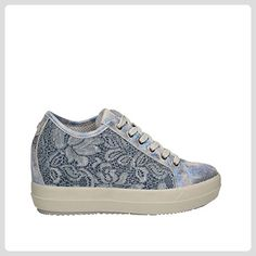 IGI , Damen Sneaker, blau - blau - Größe: 38 - Schnürhalbschuhe für frauen (*Partner-Link)