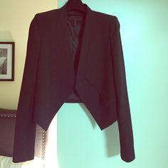 BCBG MAX AZRIA blazer (brand new/never worn) Black traditional blazer long sleeve and padded shoulders BCBGMaxAzria Jackets & Coats Blazers