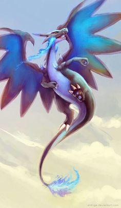 Mega Charizard X or the beautifulest Pokemon ever done Gladio Pokemon, Gijinka Pokemon, Pokemon Fan Art, Pokemon Cards, Charmander, Pokemon Dragon, Pokemon Stuff, Cool Pokemon Wallpapers, Animes Wallpapers