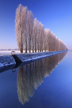 Canale Vacchelli, Cremona District, Lombardy, Italy
