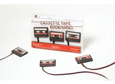 Cassette Tape Bookmarks by Studio Ding Dong