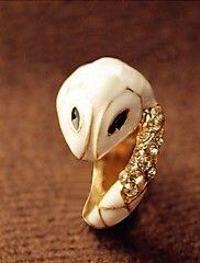 J & G Moda Diamonade Serpente forma de anel