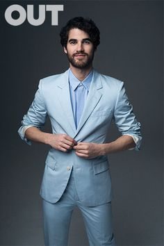 Darren Criss makes HOT LIST for OUT Magazine May 2015.